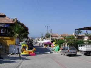 Street in Oludeniz