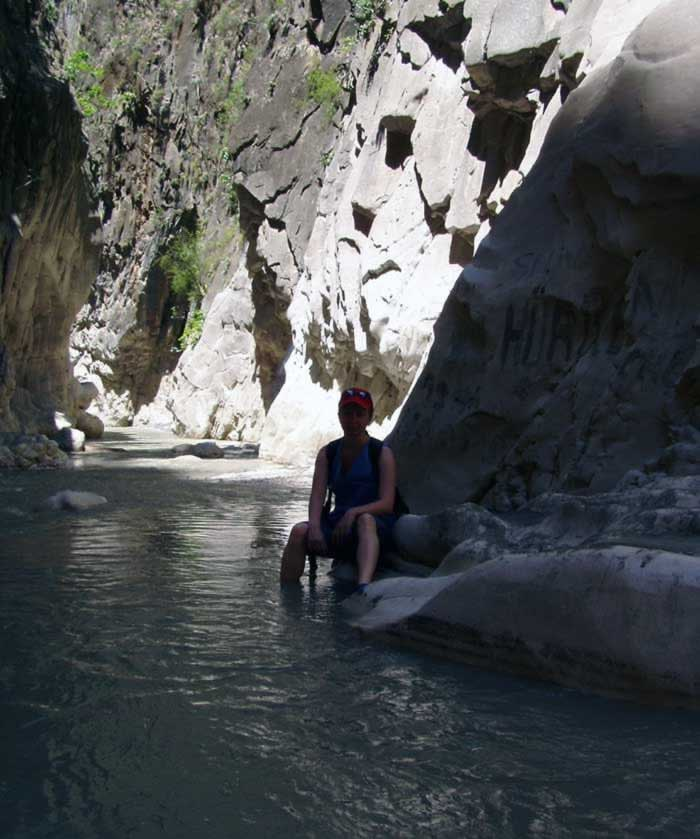 A little rest in the shadow - Saklikent Gorge