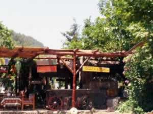 The Gozleme restaurant in the valley of Kayakoy