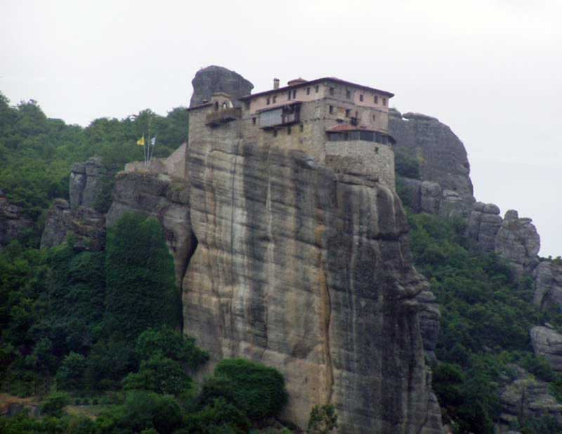One of the monasteries in Meteora Greece