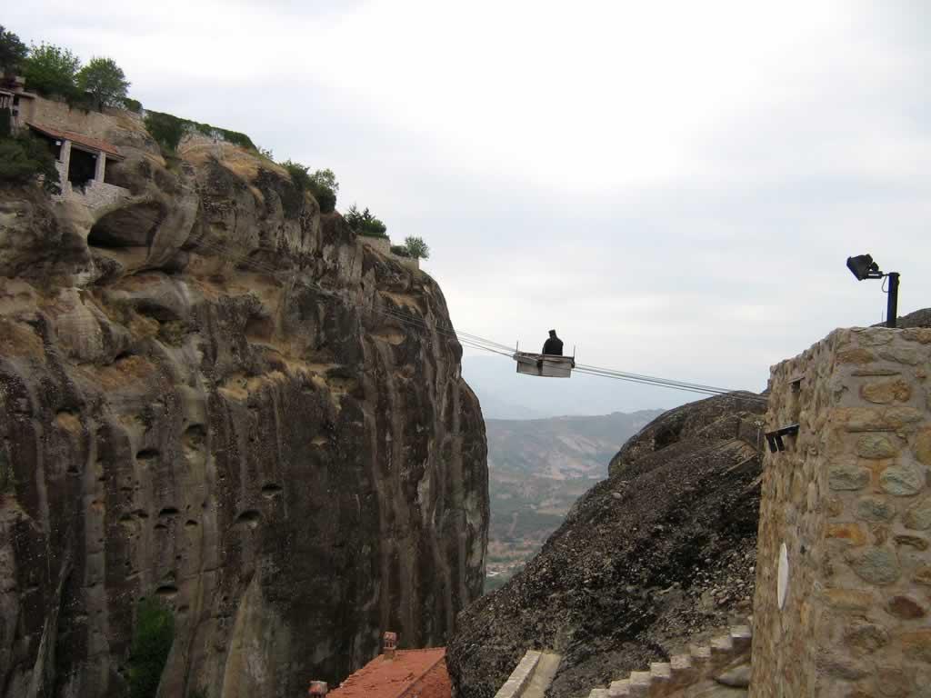 Megalo Meteoron Monk