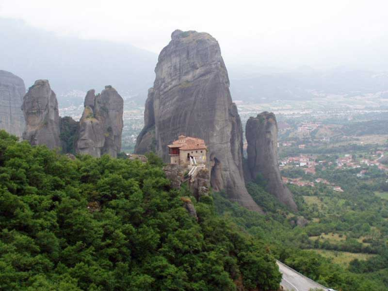 The Varlaam Monastery - Meteora, Greece