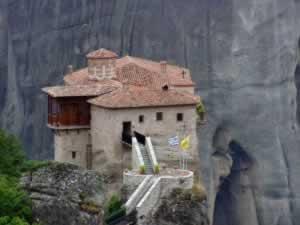 Varlaam Monastery - a closer view