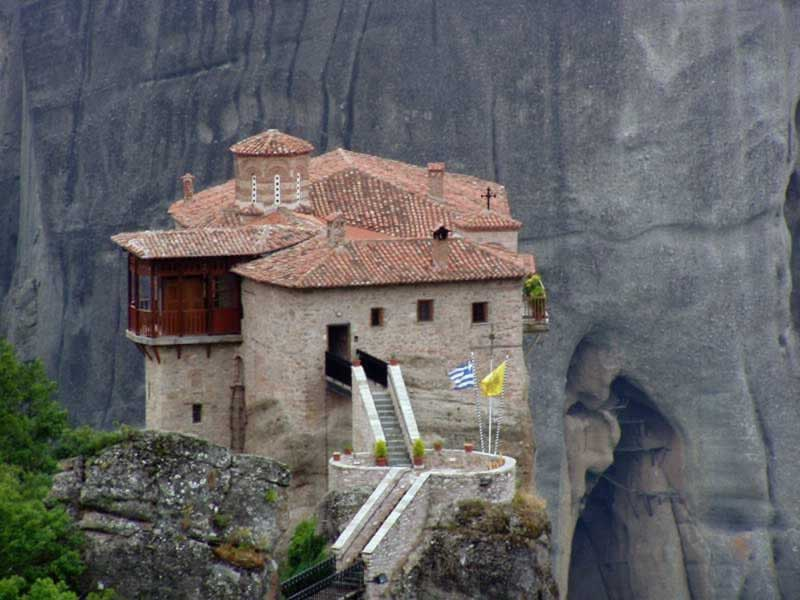 Did the Hermits of Meteora Lose Their Privacy to Tourists?