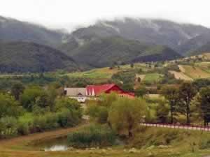 Clouds over Apuseni mountains, Romania