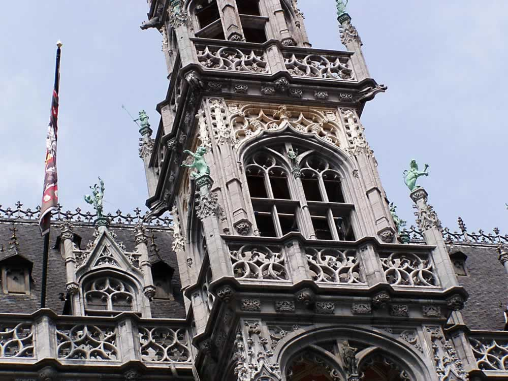 Brussels building detail