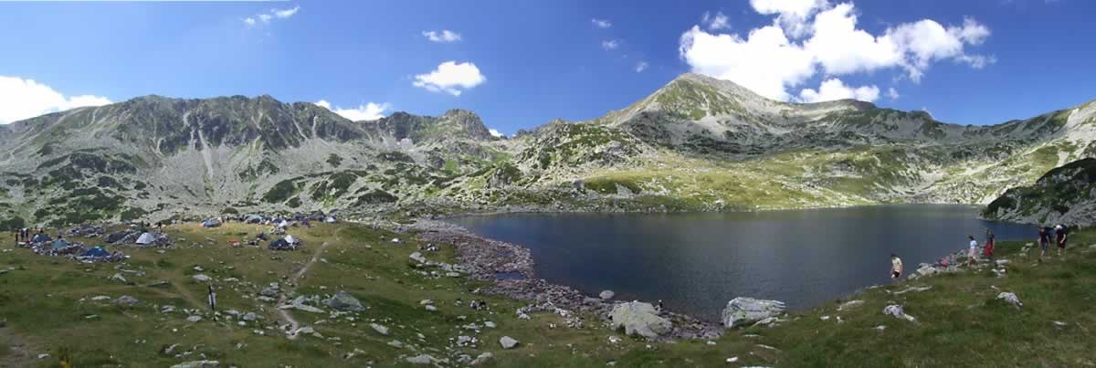 Bucura Lake in Retezat