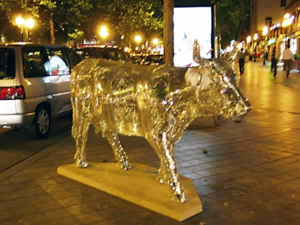 The golden cow