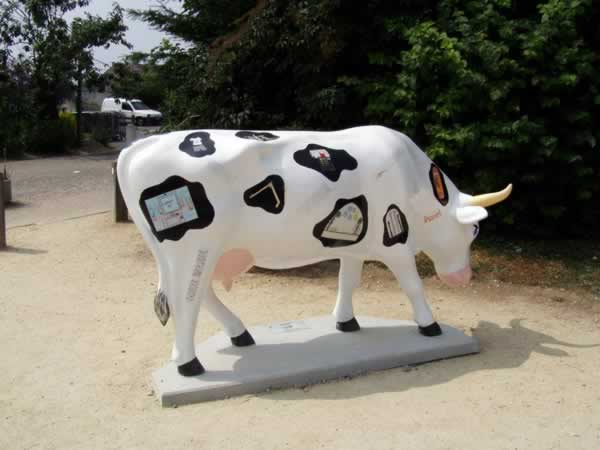 The office cow