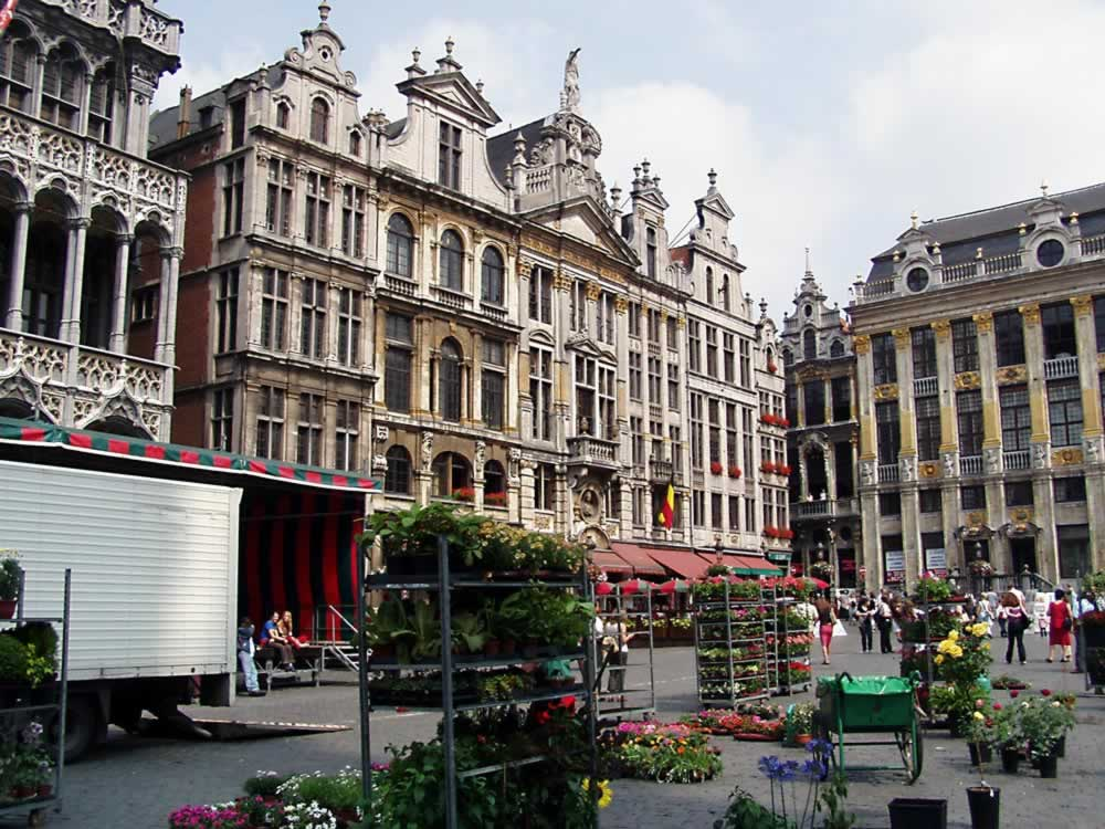 Florists in the Grand-Place