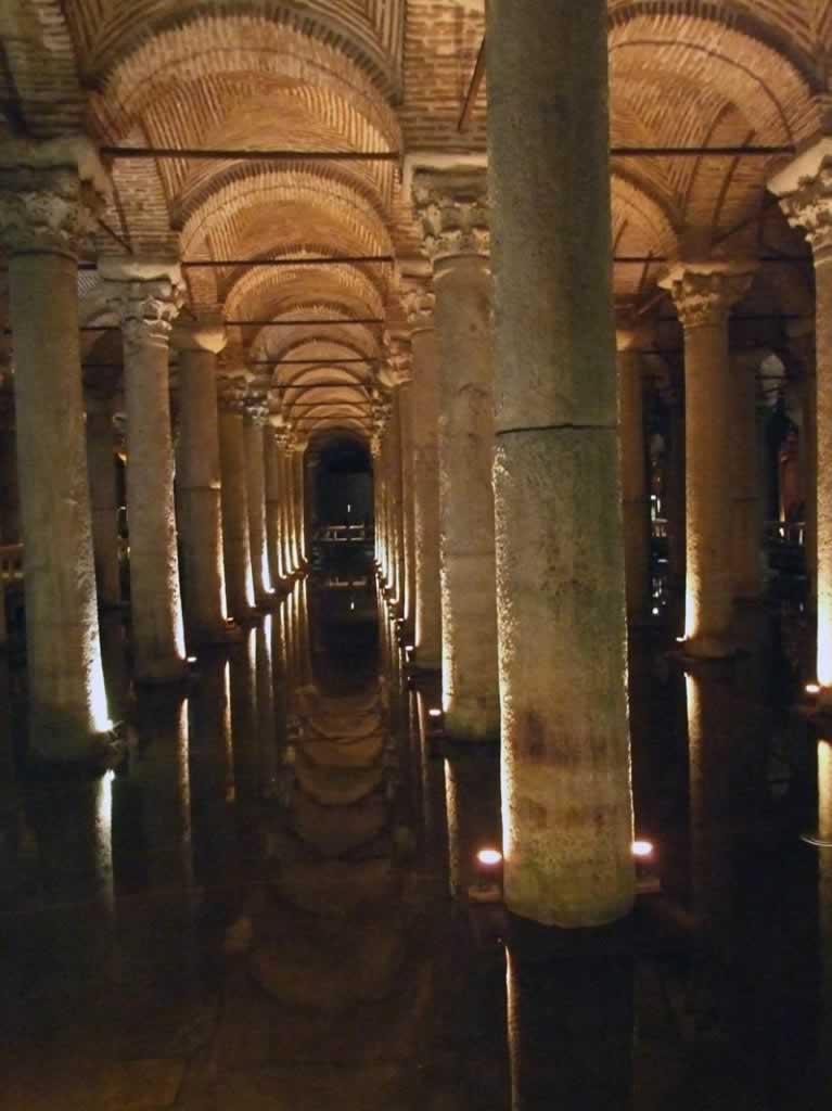 Basilica Cistern Istanbul - pillars