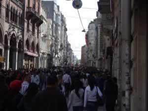 Istiklal street - Istanbul, Turkey