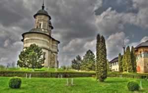 Monastery in Moldova, Romania