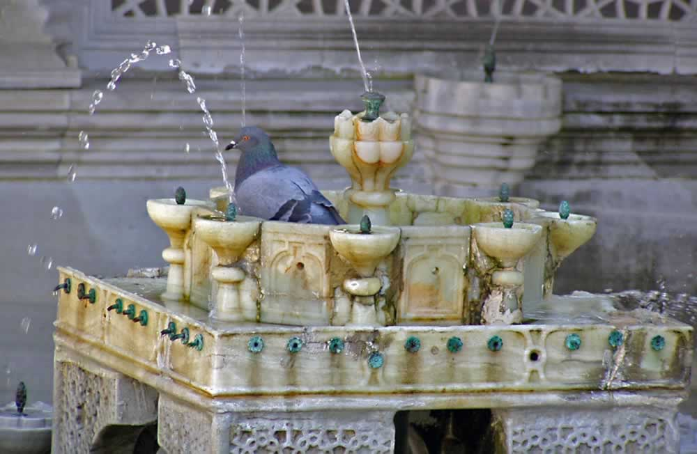 Marble Fountain at Topkapi Palace – Istanbul, Turkey