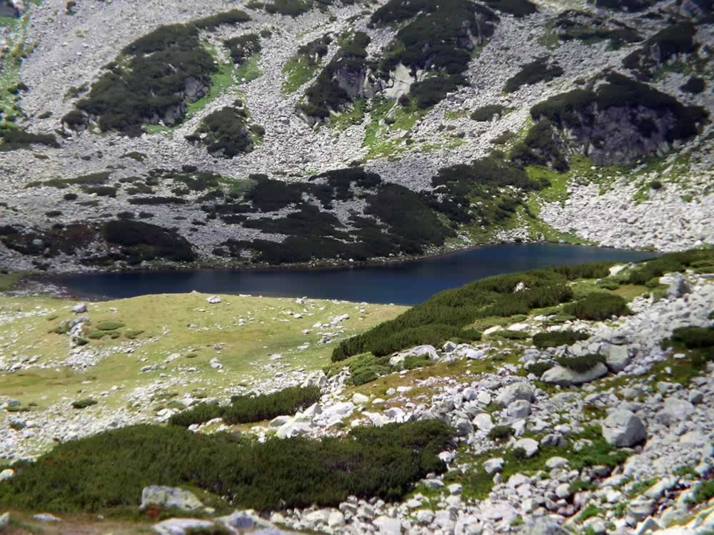 Lia lake in Retezat