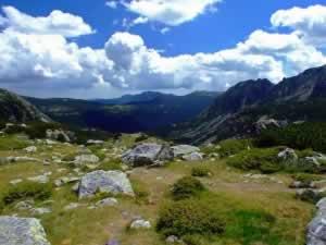 Retezat landscape