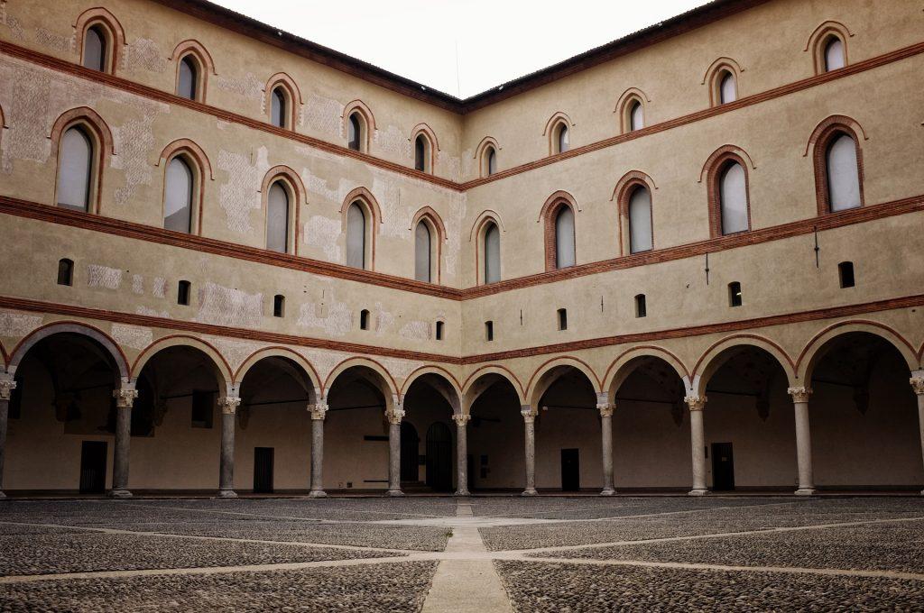 sforzesco castle Milan, Italy