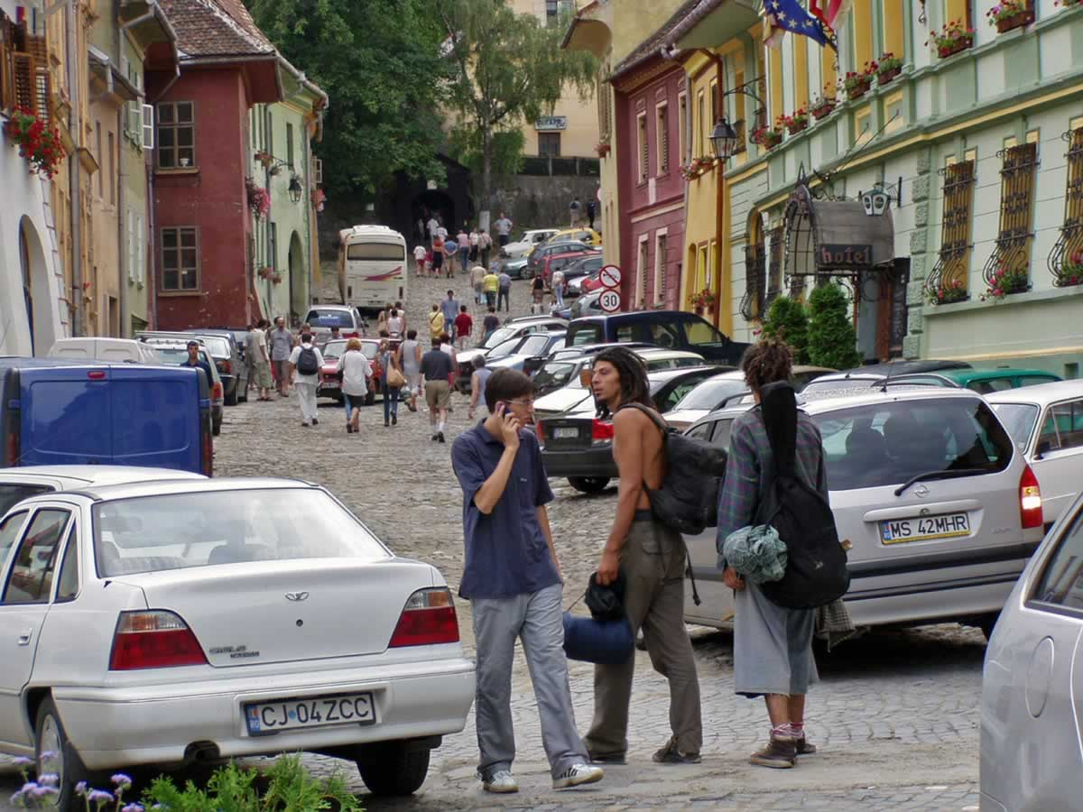Sighisoara Citadel, Romania – Birth Place of Vlad Tepes (or Vlad the Impaler)