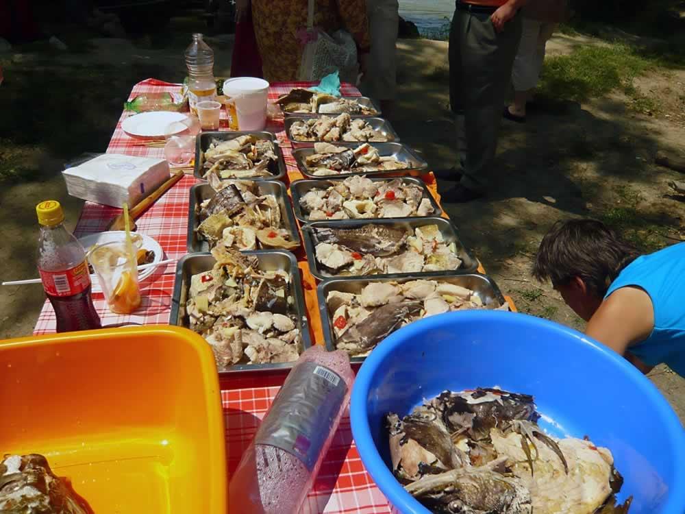 Fish meal preparation
