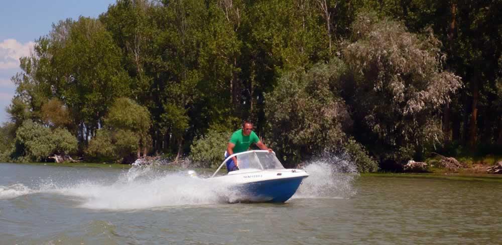 Small boat, big fun