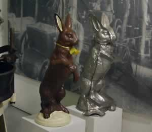 Chocolate Bunny Tin Mould