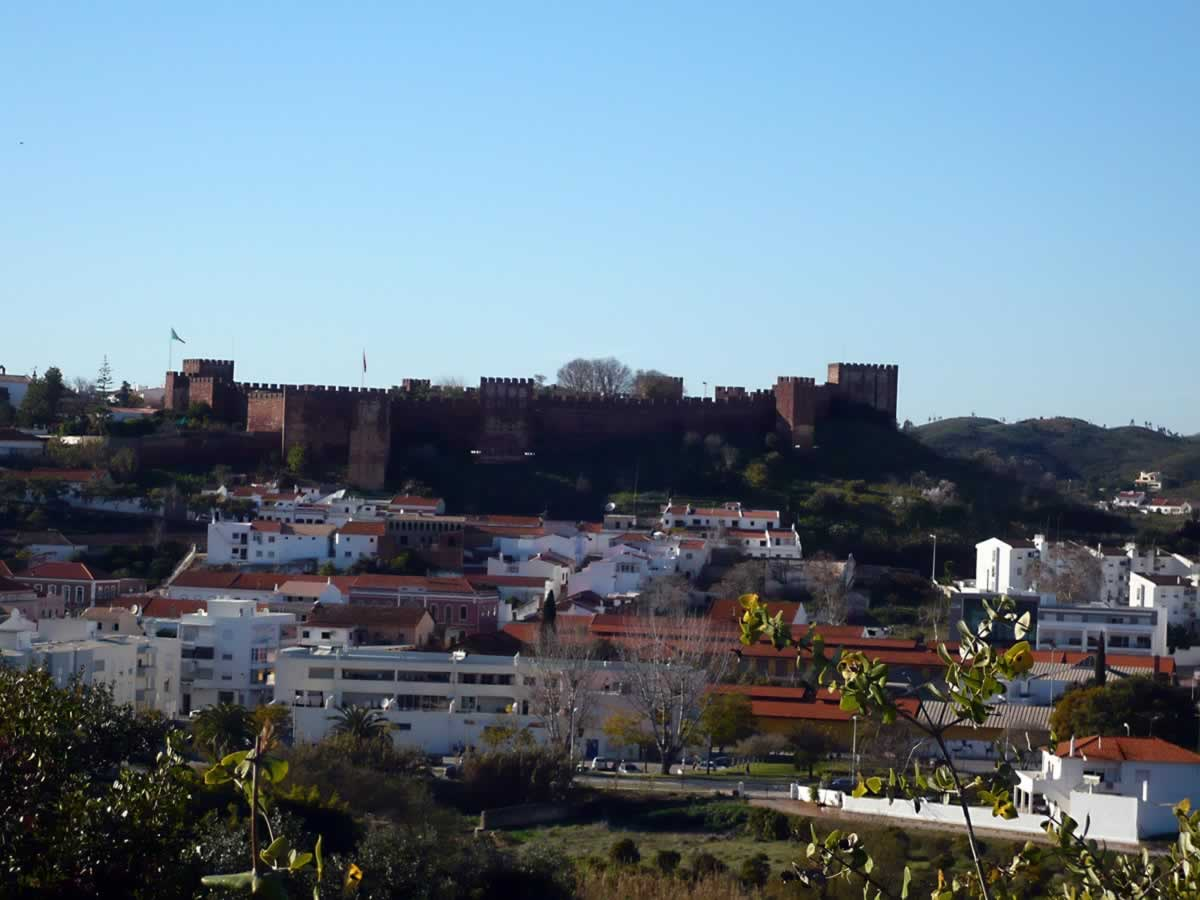 The Moorish Castle of Silves, Portugal