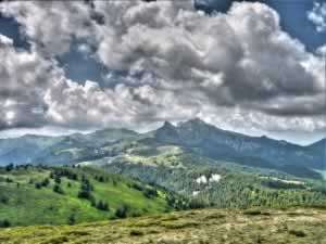 Ciucas Mountains Romania