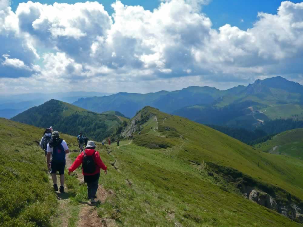 Hiking In Ciucas Mountains