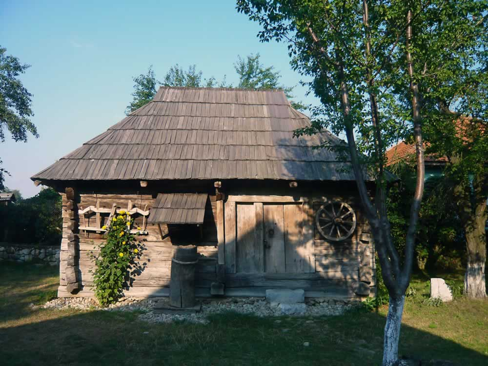 Brancusi House Museum Hobita - tools shed