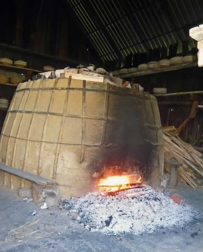 Pottery Burning Oven