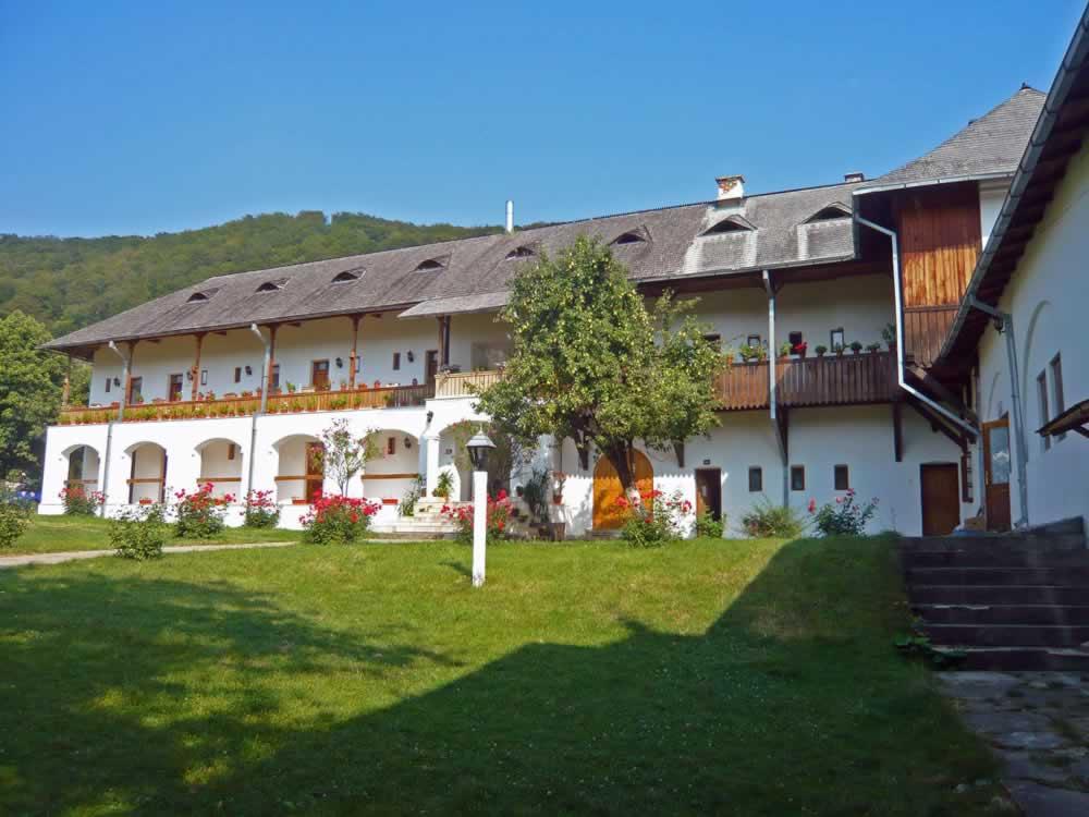 Romanian monastery in Oltenia