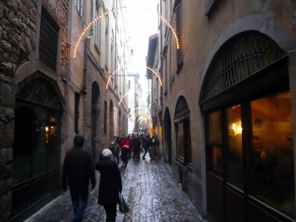 Citta Alta Bergamo street view