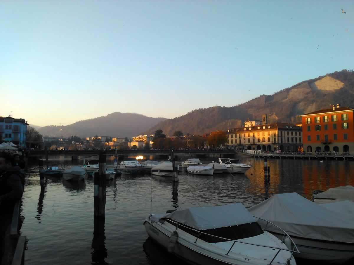 Lake Iseo, Sarnico, Italy
