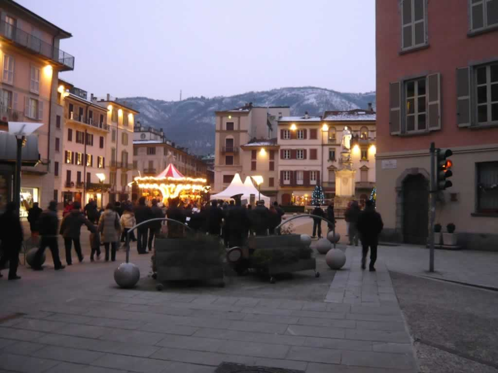 Lecco Christmas market