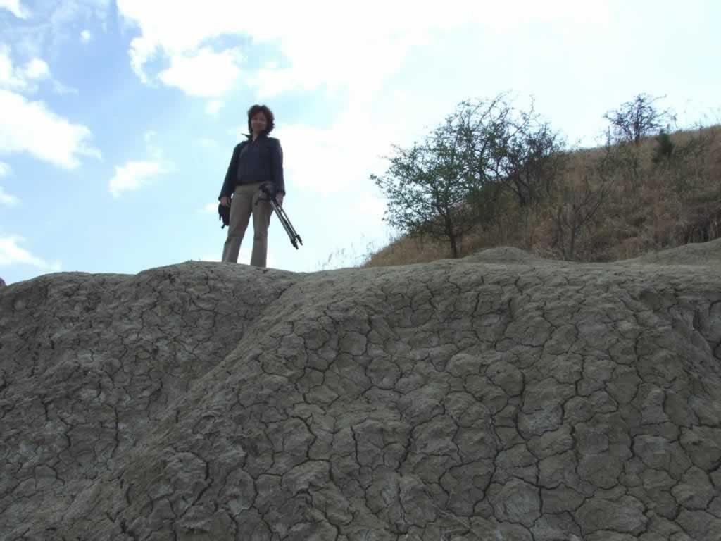 muddy volcanoes uphill