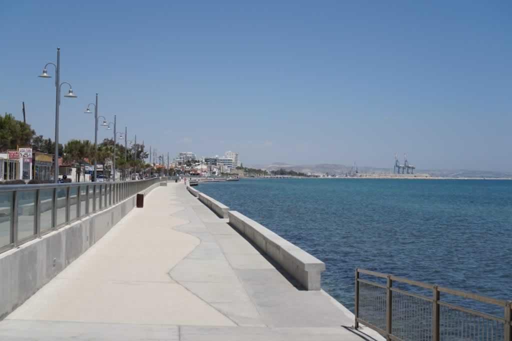 larnaca promenade Cyprus