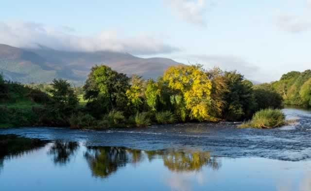 The Flesk river in Killarney