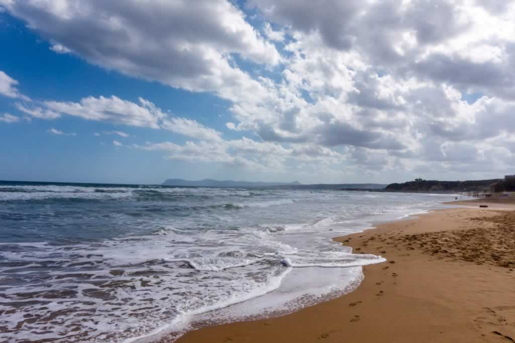 chania beaches blue flag