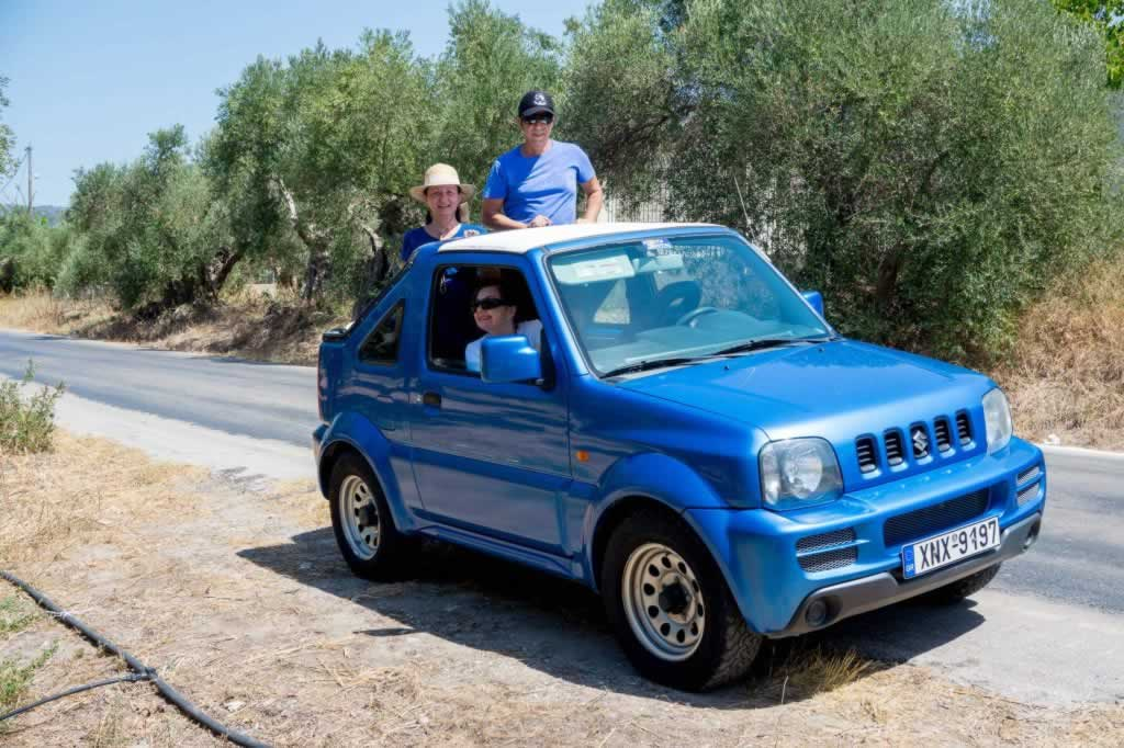 suzuki jimny crete chania beaches