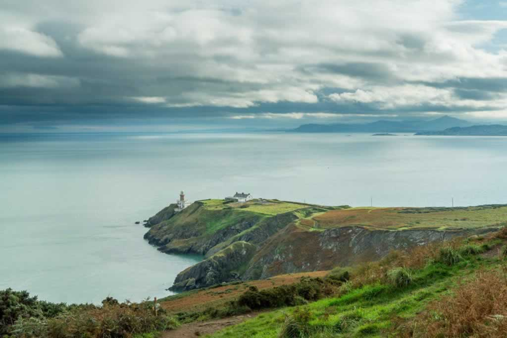 View from the Howth Cliff