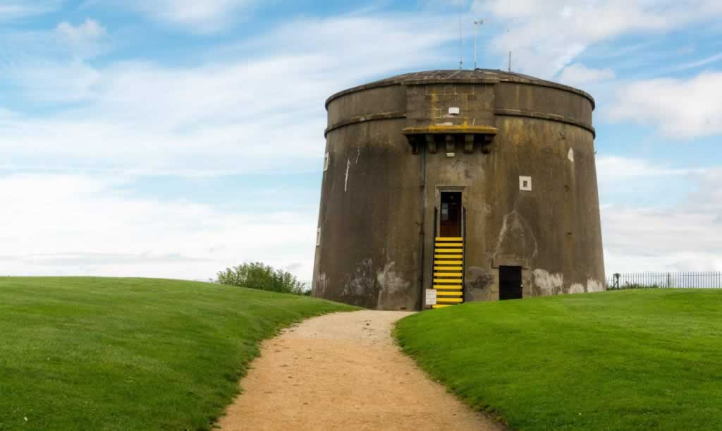martello tower day trips from dublin