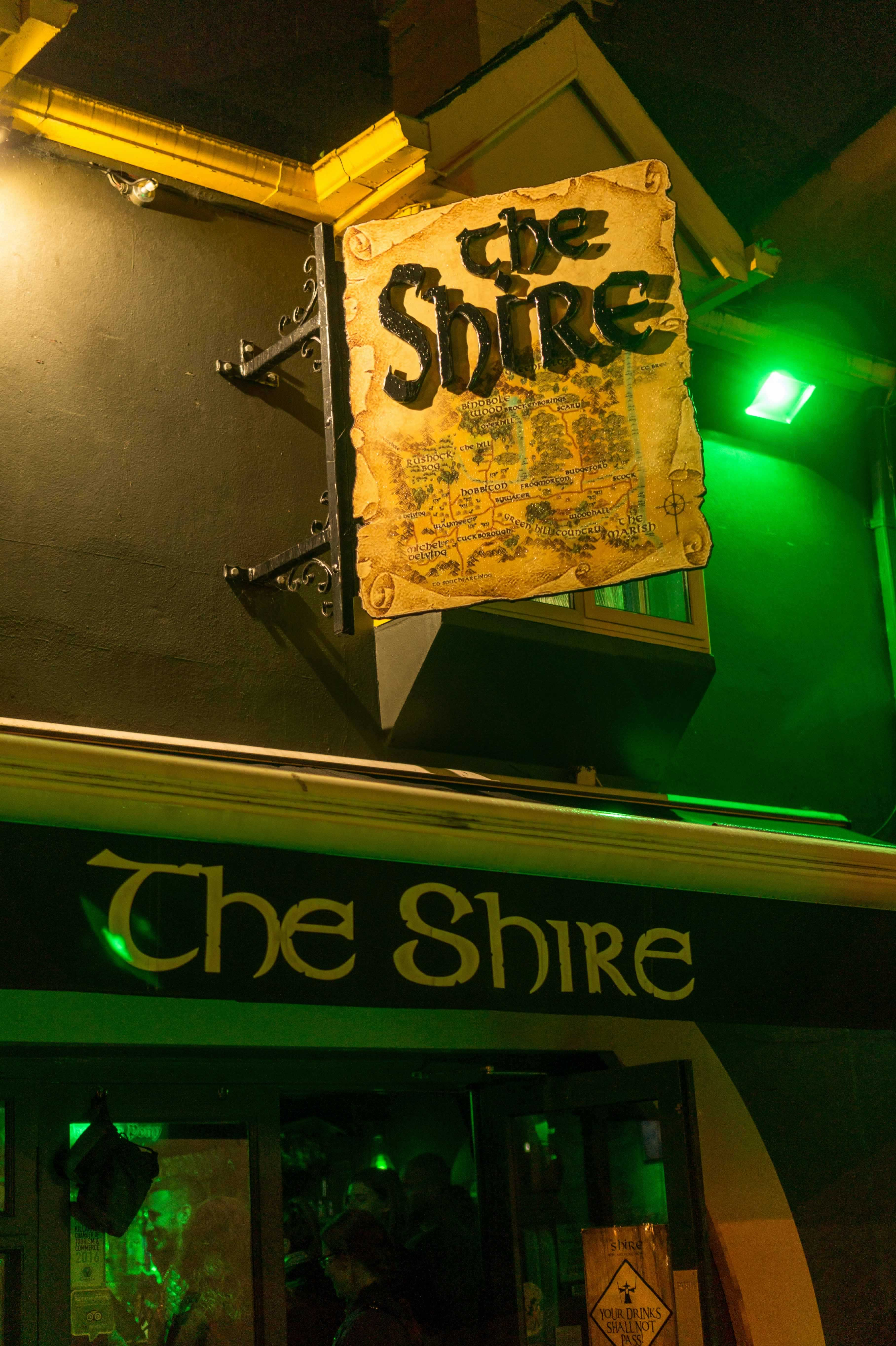the shire pub killarney