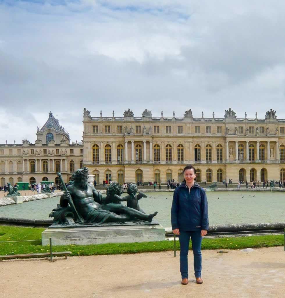Chateau de Versailles Neptune Statue