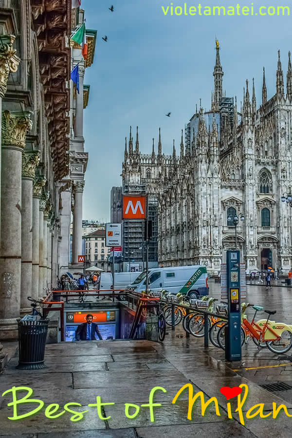 Milan one-day itinerary that starts from Milano Centrale trainm sptation and takes you to the Duomo, Parco Sempione, Castello Sforzesco, and many other cool places in Milan.