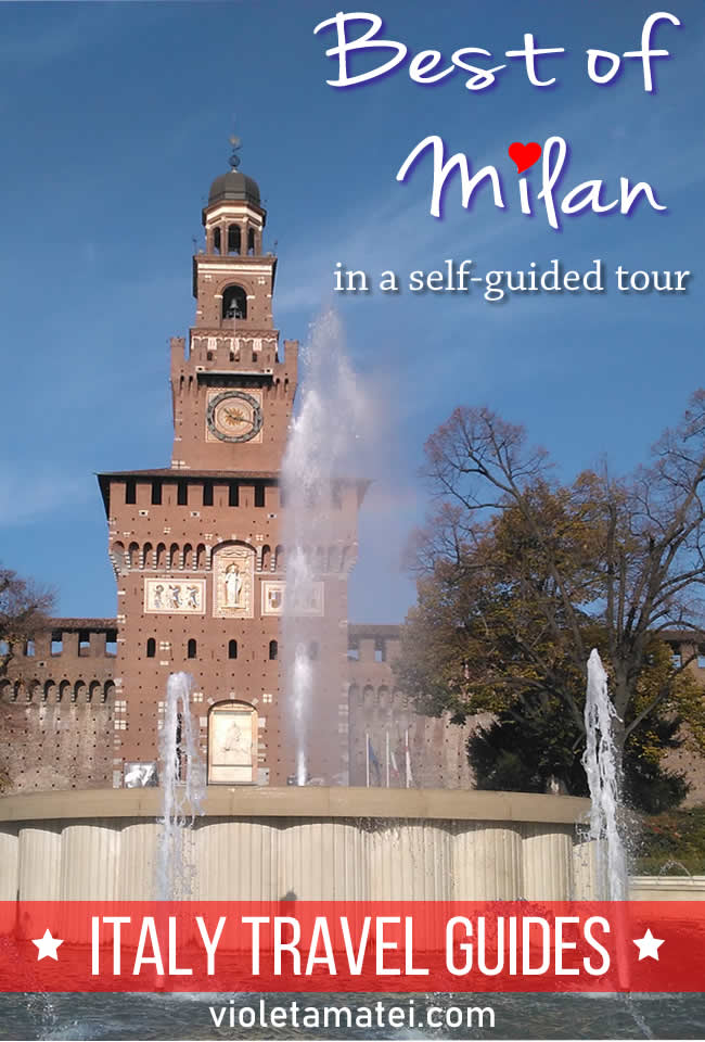 Milan one-day itinerary that starts from Milano Centrale trainm sptation and takes you to the Duomo, Parco Sempione, Castello Sforzesco, and many other cool places in Milan. See the best of Milan in this self-guided tour.