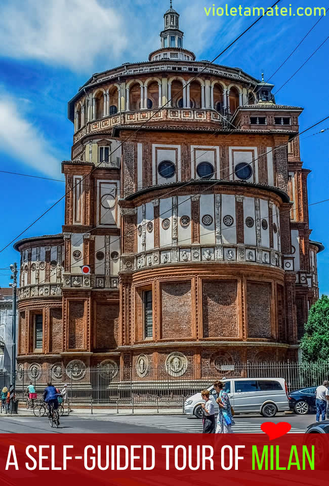 Milan Santa Maria delle Grazie Church
