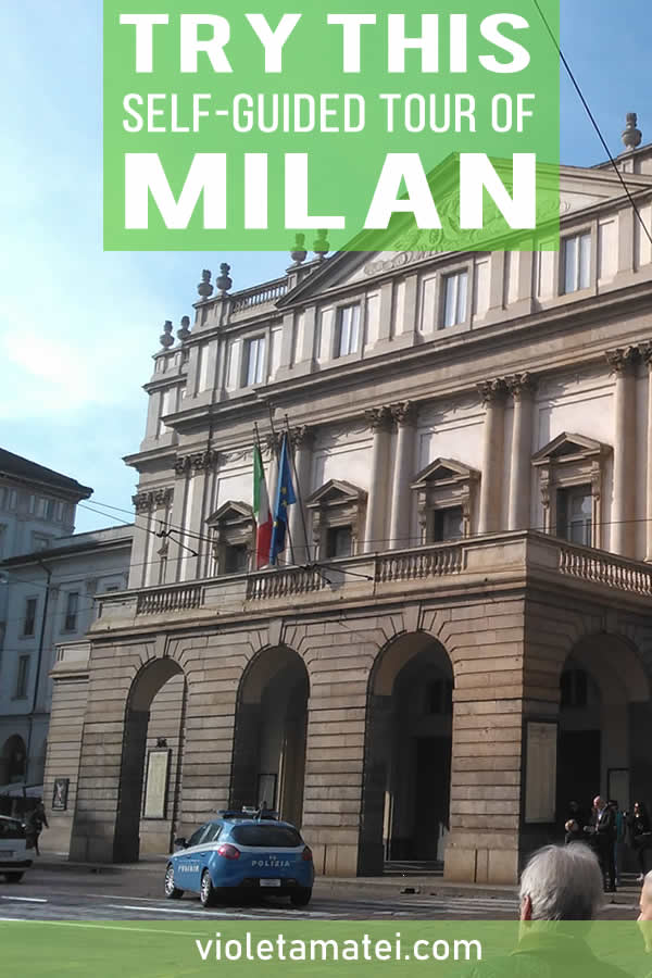 A self-guided tour of Milan, Italy