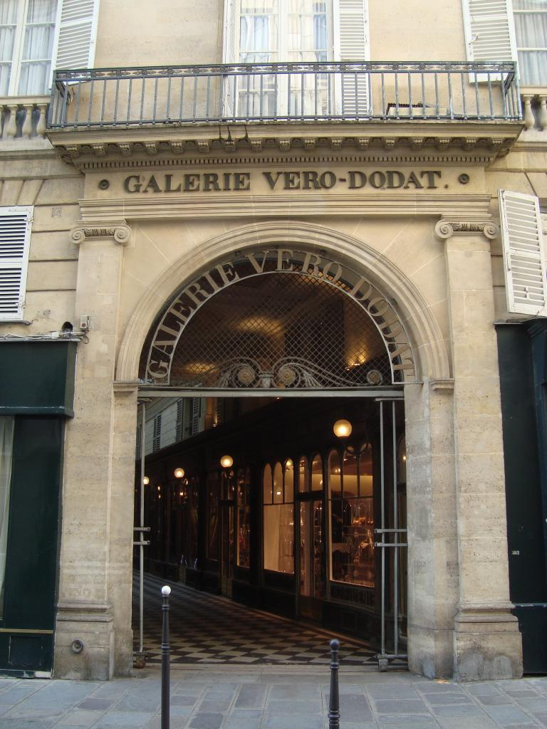 Covered Passage Galerie Véro-Dodat