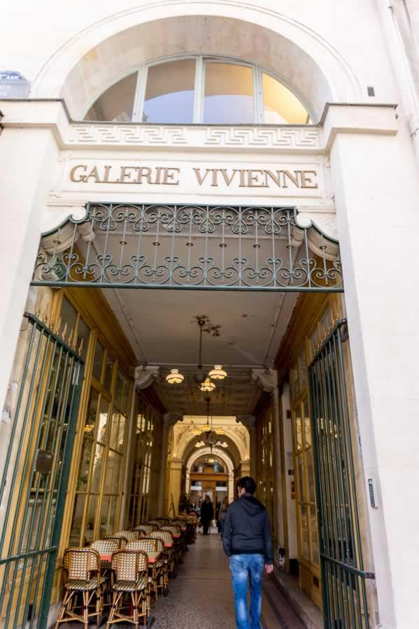 Galerie Vivienne Paris, France