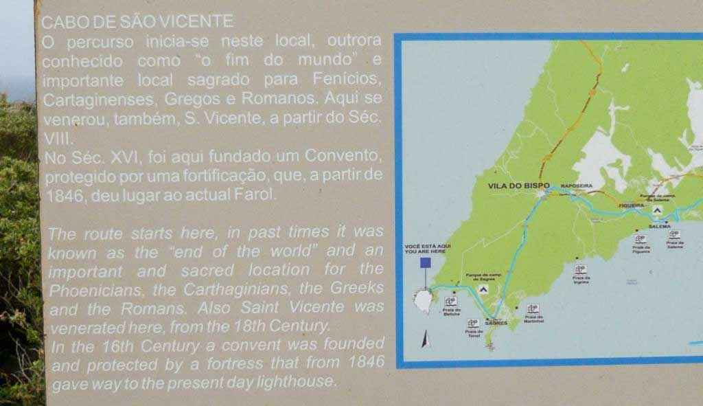 cabo saint vincent map